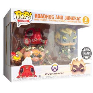 Figurines Funko Pop Roadhog and Junkrat (Overwatch)