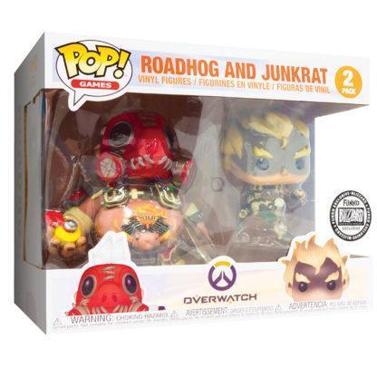 Figurines Funko Pop Roadhog and Junkrat (Overwatch)