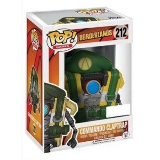 figurine funko pop 212 Commando Claptrap (borderlands)