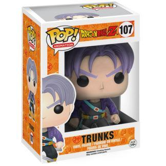 Figurine Funko Pop 107 Trunks (Dragon Ball Z)