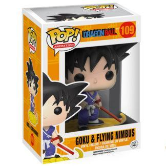 Figurine Funko Pop 109 Goku & Flying Nimbus (Dragon Ball)