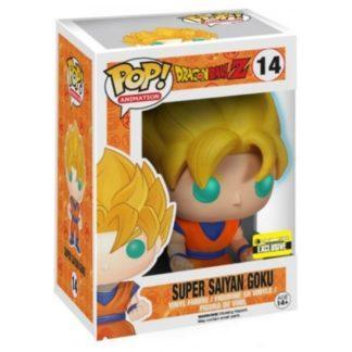 Figurine Funko Pop 14 Super Saiyan Goku Glows in the Dark (Dragon Ball Z)