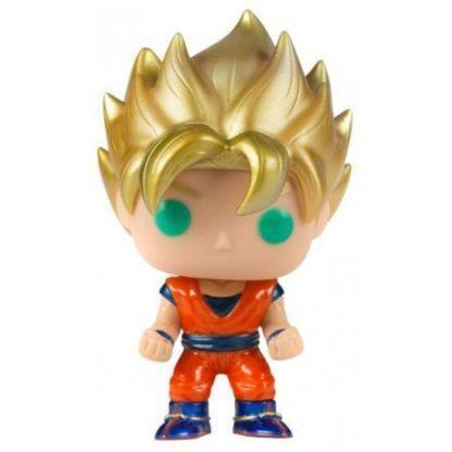 Figurine Funko Pop 14 Super Saiyan Goku Metallic (Dragon Ball Z)