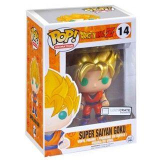 Figurine Funko Pop 14 Super Saiyan Goku Metallic (Dragon Ball Z)