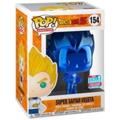 Figurine Funko Pop 154 Super Saiyan Vegeta Metallic Blue (Dragon Ball Z)
