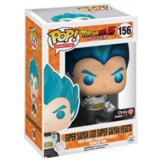 Figurine Funko Pop 156 Super Saiyan God Super Saiyan Vegeta Metallic (Dragon Ball Z)