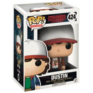 Figurine Funko Pop 424 Dustin Chase (Stranger Things)