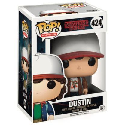 Figurine Funko Pop 424 Dustin Chase (Stranger Things)