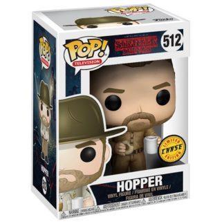 Figurine Funko Pop 512 Hopper Chase (Stranger Things)