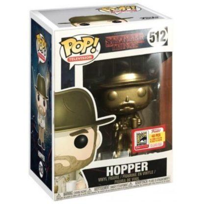 Figurine Funko Pop 512 Hopper Gold (Stranger Things)