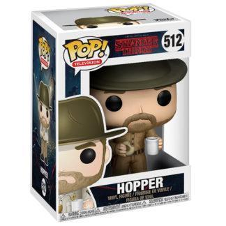 Figurine Funko Pop 512 Hopper (Stranger Things)