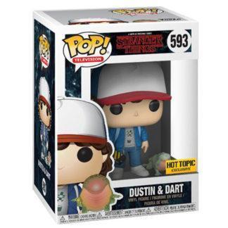 Figurine Funko Pop 593 Dustin & Dart (Stranger Things)