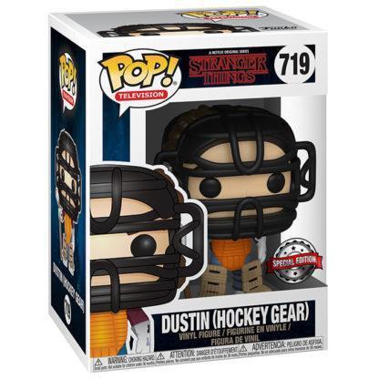 Figurine Funko Pop 719 Dustin Hockey Gear (Stranger Things)