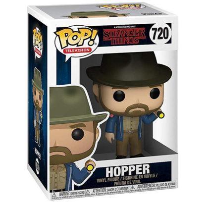 Figurine Funko Pop 720 Hopper (Stranger Things)