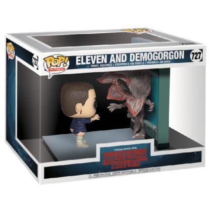 Figurine Funko Pop 727 Eleven and Demogorgon (Stranger Things)
