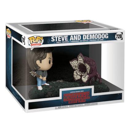 Figurine Funko Pop 728 Steve and Demodog (Stranger Things)