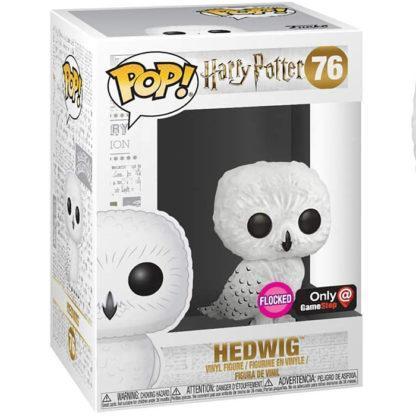 Figurine Funko Pop 76 Hedwig Flocked (Harry Potter)