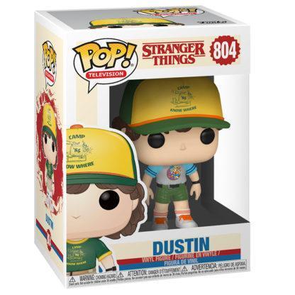 Figurine Funko Pop 804 Dustin Chase (Stranger Things)
