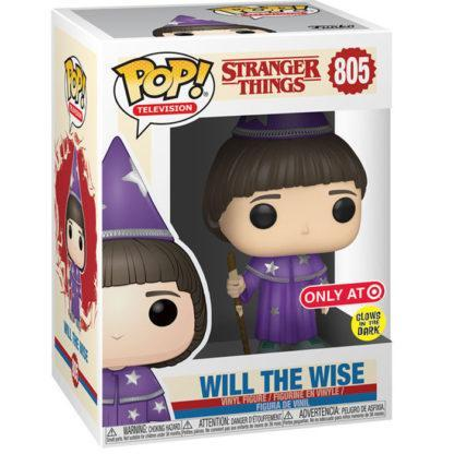Figurine Funko Pop 805 Will The Wise Glows In The Dark (Stranger Things)