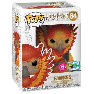Figurine Funko Pop 84 Fawkes Flocked (Harry Potter)