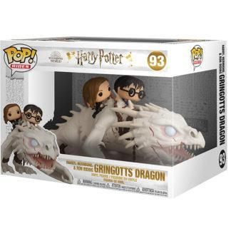 Figurine Funko Pop 93 Harry, Hermione & Ron Riding Gringotts Dragon (Harry Potter)