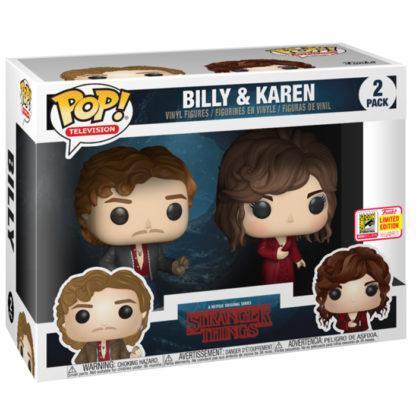 Figurines Funko Pop Billy et Karen (Stranger Things)