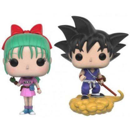 Figurines Funko Pop Bulma & Goku with Flying Nimbus (Dragon Ball)