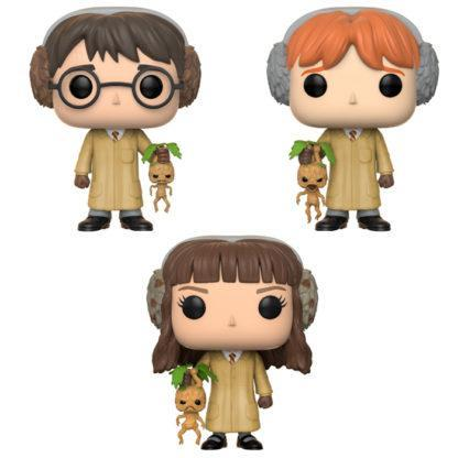 Figurines Funko Pop Harry Potter, Ron Weasley & Hermione Granger (Harry Potter) herbology