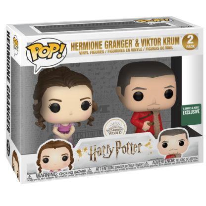 Figurines Funko Pop Hermione Granger & Viktor Krum (Harry Potter)