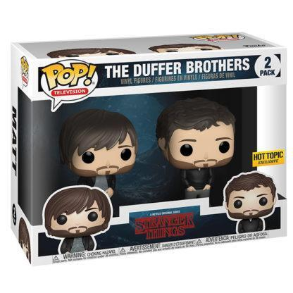Figurines Funko Pop The Duffer Brothers (Stranger Things)