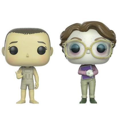 Figurine Funko Pop Upside Down Eleven & Barb (Stranger Things)