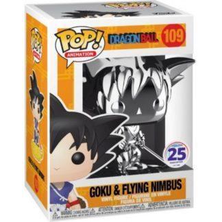 Figurine Pop 109 Goku & Flying Nimbus Metallic (Dragon Ball)