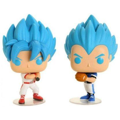 Figurines Pop Goku & Vegeta Baseball (Dragon Ball Super)