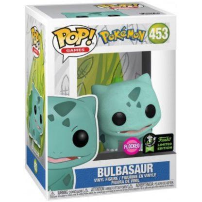 Figurine Pop 453 Bulbasaur Flocked (Pokémon)