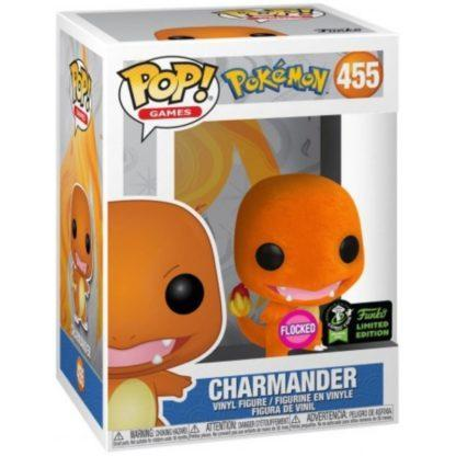 Figurine Pop 455 Charmander Flocked (Pokémon)