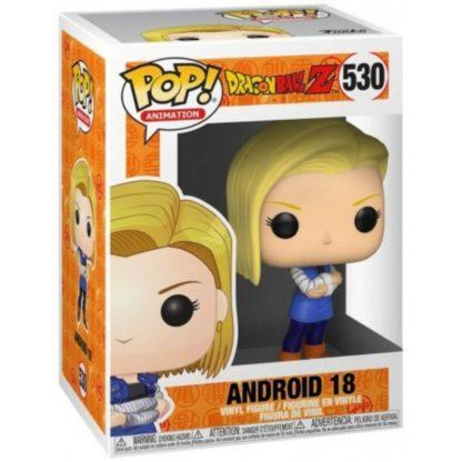 Figurine Pop 530 Android 18 (Dragon Ball Z)