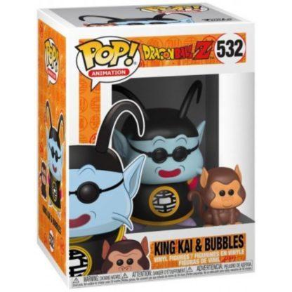 Figurine Pop 532 King Kai & Bubbles (Dragon Ball Z)