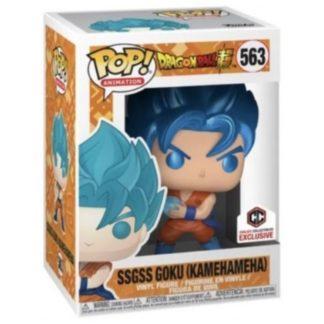 Figurine Pop 563 SSGSS Goku Kamehameha Metallic (Dragon Ball Super)