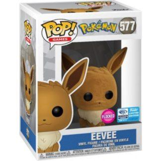 Figurine Pop 577 Eevee Flocked (Pokémon)