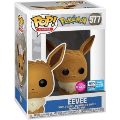 Figurine Pop 577 Eevee Flocked (Pokémon)