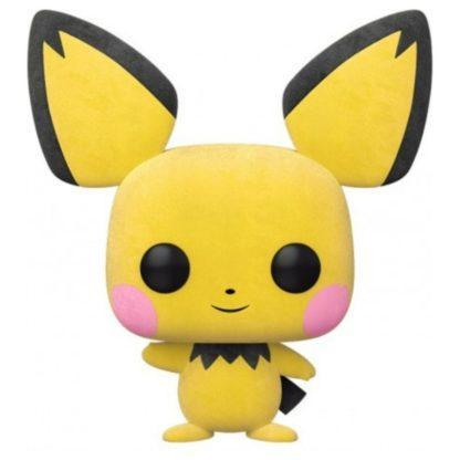 Figurine Pop 579 Pichu Flocked (Pokémon)