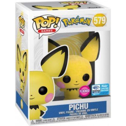 Figurine Pop 579 Pichu Flocked (Pokémon)