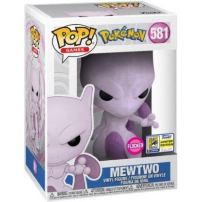 Figurine Pop 581 Mewtwo Flocked (Pokémon)