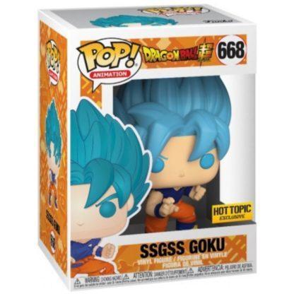 Figurine Pop 668 SSGSS Goku (Dragon Ball Super)