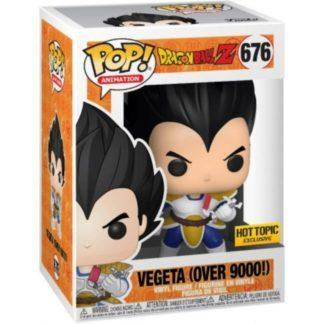 Figurine Pop 676 Vegeta OVER 9000! (Dragon Ball Z)
