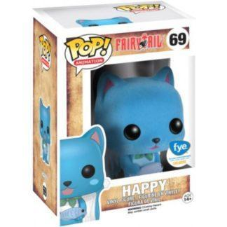 Figurine Pop 69 Happy Flocked (Fairy Tail)