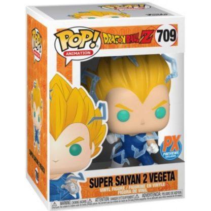 Figurine Pop 709 Super Saiyan 2 Vegeta (Dragon Ball Z)
