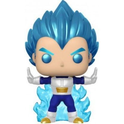 Figurine Pop 713 Vegeta Powering Up Chase Metallic (Dragon Ball Super)