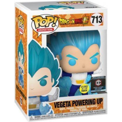 Figurine Pop 713 Vegeta Powering Up Glows in the Dark (Dragon Ball Super)
