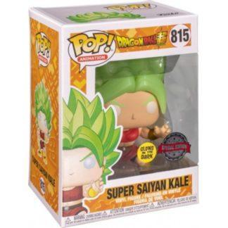 Figurine Pop 815 Super Saiyan Kale Glows in the Dark (Dragon Ball Super)